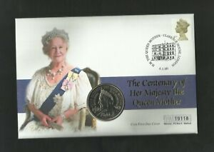 2000  £5  QUEEN MOTHER'S CENTENARY   BRILLIANT UNCIRCULATED  FIRST DAY COVER