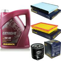 Ölwechsel Set 5L MANNOL Extreme 5W-40 Motoröl + SCT Germany Filter KIT 10130776