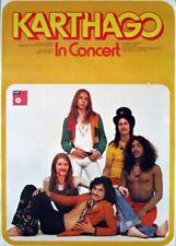 KARTHAGO - 1973 - Tourplakat - In Concert - Second Step - Tourposter