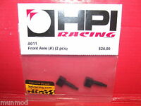 HPI A011 Front Axle A Super F1 Road Star 2pcs