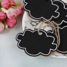10xMini wooden wedding blackboard chalkboards hanging message numberparty decor`