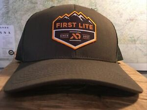 First Lite Badge Conifer Trucker Hat sold out