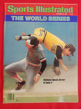 1987 MLB WORLD SERIES PITTSBURGH PIRATES vs BALTIMORE ORIOLES Sports Illustrated