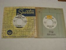 Johnny Nash/ Lot of two promos WLP 45s/ Sparton/ Canada/ A Thousand Miles Away