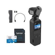 DJI Osmo Pocket Handheld 3 Axis Gimbal Stabilizer W/ Integrated Camera + 64GB