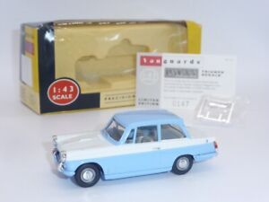 Lledo Vanguards #VA5011 Triumph Herald Blue/White boxed Limited Edition 1:43