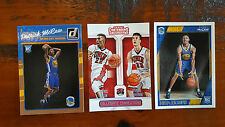 Patrick McCaw LOT of 3x different ROOKIE RC cards - Golden State Warriors