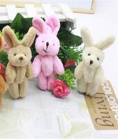 2 PC gemeinsame Kaninchen Anhänger Plüsch gefüllte Spielzeug Kaninchen für Kid