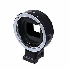 Movo CTS100 Lens Adapter for Sony NEX Mirrorless Cameras to fit Canon EOS Lenses