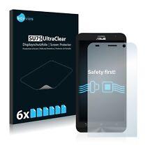 6x Displayschutzfolie Asus ZenFone 2 ZE551ML Schutzfolie Klar Folie Displayfolie