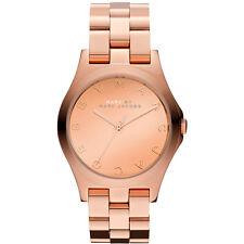 MARC BY MARC JACOBS Uhr MBM3212 HENRY Rosegold Damen Edelstahl Armbanduhr NEU