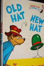 OLD HAT NEW HAT STAN AND JAN BERENSTAIN BEGINNER BOOKS FOR BEGINNERS 1971