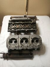 Corvair heads with exhaust manifolds