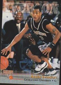 1996 The Score Board #1 Allen Iverson Rookie