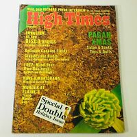 VTG High Times Magazine December 1977 - Richard Pryor & Bolivian Cocaine Fields
