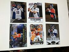 2015 PANINI NATIONAL FOOTBALL No.21 PEYTON MANNING AND 5 BONUS CARDS