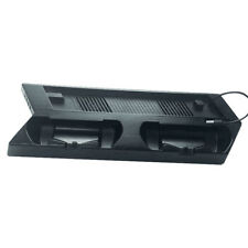 New Multifunction Charging Stand Station Dock with 2 Cooling Fans for PS4 Slim