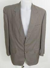 Veste de costume LANVIN Paris, beige, polyester, taille 52