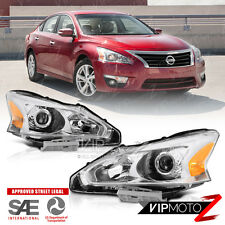 "For 2013-2015 Nissan Altima Sedan 4DR ""FACTORY STYLE"" Head Lights Lamps Pair L+R"