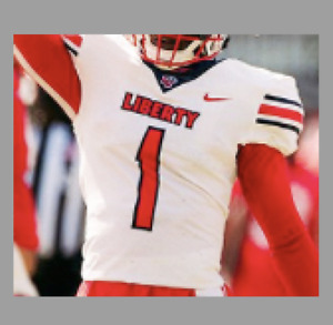 Liberty Flames CUSTOM Jersey +700 SOLD - Youth Medium to Adult 3XL - 3 Styles