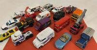 Vintage Lot of 70s, 80s & 90s Die Cast Toy Cars / Trucks - Hot Wheels, Matchbox