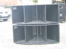 Martin Audio  215 Bass Bins pair beautiful condiion