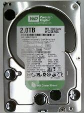 """2 TB SATA western digital WD Green 7200rpm 3.5"""" WD 20 eads - 00r6b0 disco duro"""