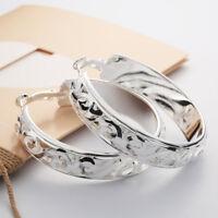 Round Fashion Earring Women Fashion Hoop Studs Dangle Earrings Ear Studs Jewelry