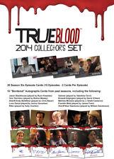 True Blood Season Six Collectors Set with 10 Autograph Cards