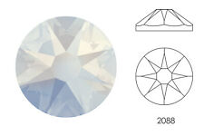 10x Swarovski® Crystals Flatback white opal 2088 NoHF SS34 7mm Xirius Strass