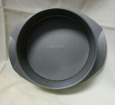 """NEW CALPHALON Spring Form Pan 9"""" with Flat Base Easy Carrying Tray"""