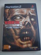 Jeu vidéo Sony PS2 playstation 2 Resident Evil Survivor 2