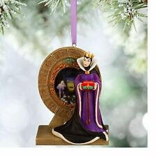 Disney Snow White's EVIL QUEEN Magic Mirror Sketchbook Ornament NWT