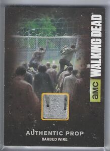 Walking Dead Season 4 Prop Card M11 Barbed Wire Show Used GPC