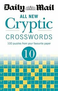 Daily Mail All New Cryptic Crosswords 10 (The Daily Mail Puzzle... by Daily Mail