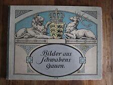 Antik Bilder aus Schwabens Gauen 1908
