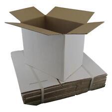 20 x White Cardboard Boxes 305x215x275mm White Packaging Carton Cardboard Box