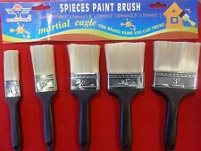 Pack of 5  Paint Brush Set DIY Painting Decorating Brushes different sizes