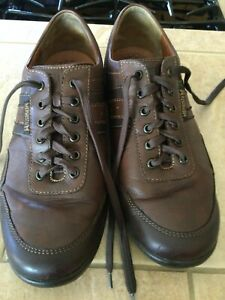 MEPHISTO Men's Brown Leather Air-Jet Walking Shoes US 9 EU 8.5 $375 MSRP