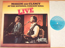 MAKEM AND CLANCY - At The National Concert Hall Live (RTE, Ireland 1983 / LP NM)