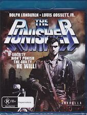 THE PUNISHER - Dolph Lundgren, Louis Gossett Jr., Jeroen Krabbé  - BLU-RAY