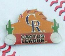 2005 Colorado ROCKIES CR logo Spring Training pin Cactus League