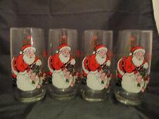 Vintage Coca Cola Glasses - Set of 4