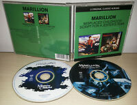 MARILLION - MISPLACED CHILDHOODS + SCRIPT FOR A JESTER'S TEAR - 2 CD