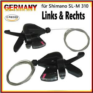 2X 3x8-fach 24 Gang Schaltung Fahrrad Schalthebel Kit für Shimano Altus SL-M310