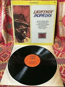 LIGHTNIN HOPKINS VINYL everest records LP 1969 SHRINK Compilation of 78s BLUES