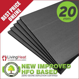Underfloor Heating Insulation x 20mm Under Floor Boards