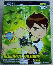 PRESSMAN BEN 10 ALIENS VS. VILLAINS GAME COMPLETE.. (USED)