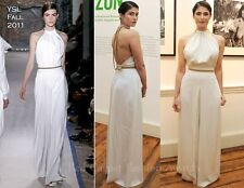 **YSL YVES SAINT LAURENT** Ivory Chain Back Gown Dress Wedding Bridal **£3,000**