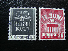 ALLEMAGNE BERLIN - timbre - yvert et tellier n° 96 97 obl (A1) stamp germany